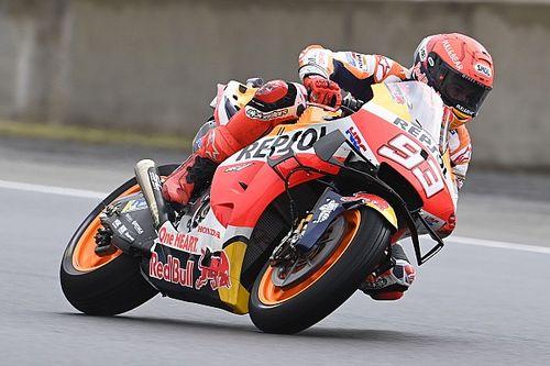"""Márquez: """"Estoy como esos pilotos que no están en forma y tratan de pescar algo en lluvia"""""""