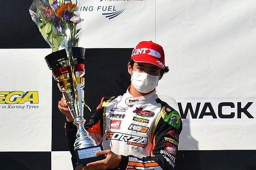 Rafael Câmara termina em 2º na Alemanha e fecha Campeonato Europeu de Kart no top-5