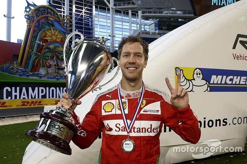 Sebastian Vettel antar Jerman juara 7 kali ROC Nations Cup