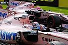 Force India larang Perez-Ocon bertarung usai insiden Spa