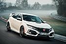 Auto Record sur le Nürburgring pour la Honda Civic Type R