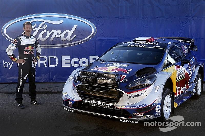 Une Ford Fiesta WRC flambant neuve pour Ogier
