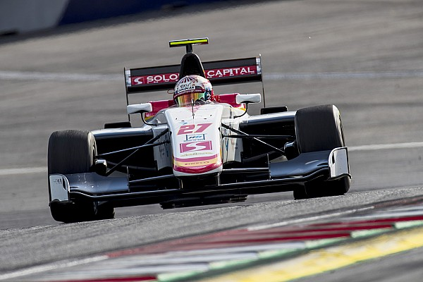 GP3 Reporte de la carrera Raoul Hyman venció en el domingo de la GP3