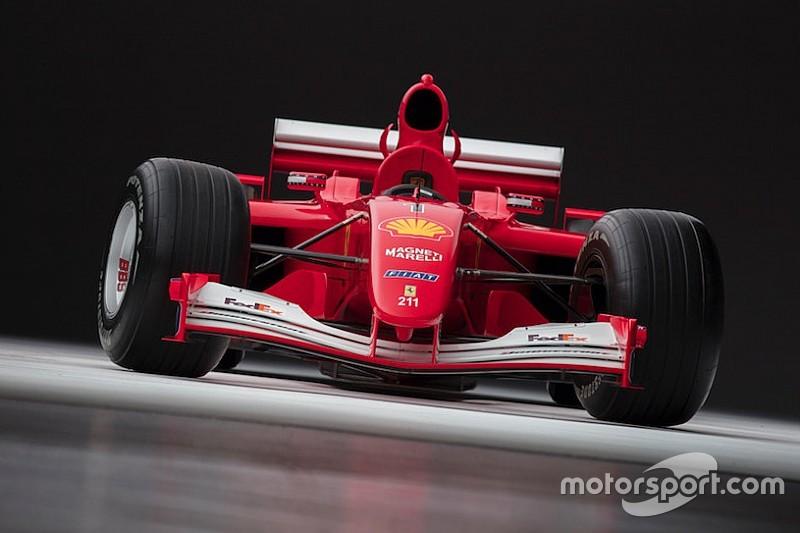 La Ferrari F2001 di Schumi venduta all'asta per oltre 7 milioni di dollari