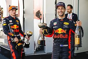 F1 突发新闻 红牛目标与里卡多、维斯塔潘续约至2020年