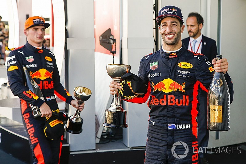 Red Bull wants 2020 deals for Ricciardo, Verstappen