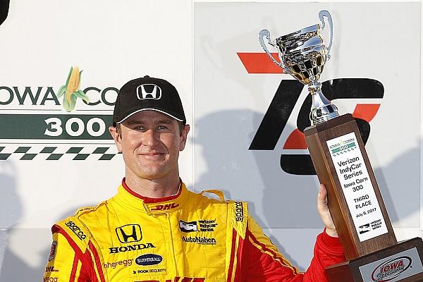 IndyCar Enfin un bon résultat pour Hunter-Reay, troisième