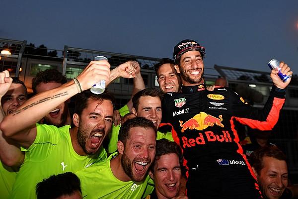 "F1 比赛报告 阿塞拜疆大奖赛:疯狂之后,里卡多笑傲""火焰之城"""