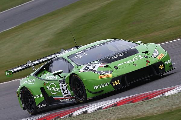Blancpain Sprint Engelhart et Bortolotti s'imposent pour Lamborghini à Brands Hatch