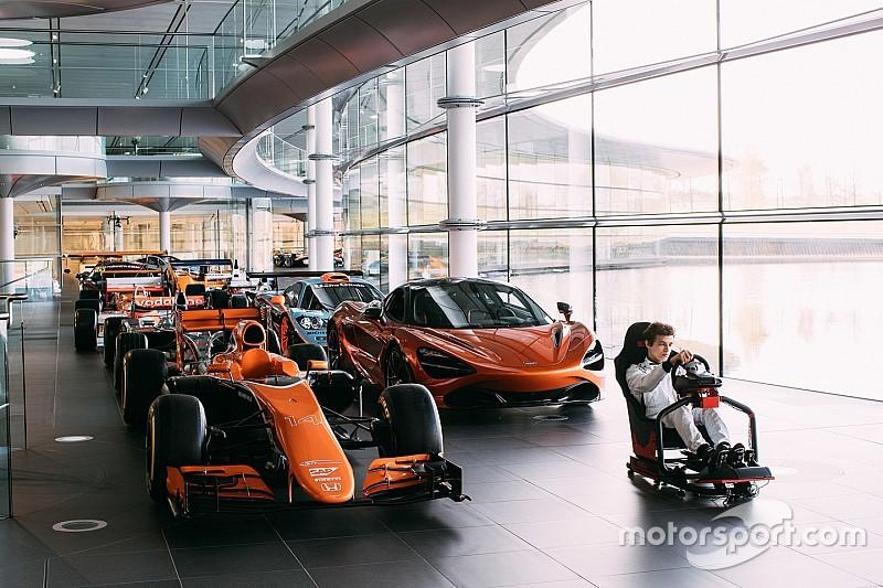 McLaren найдет себе тест-пилота с помощью компьютерной игры