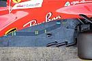 Ferrari: sul fondo della SF70H c'è un condotto di raffreddamento?