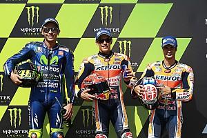 MotoGP Relato de classificação Márquez bate Rossi por 0s092 e é pole em Brno