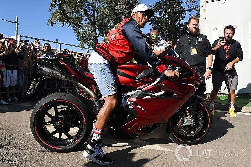 Lewis Hamilton hará más diseños de motos con MV Agusta