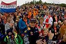 Verstappen bedankt Nederlandse Formule 1-fans in Oostenrijk