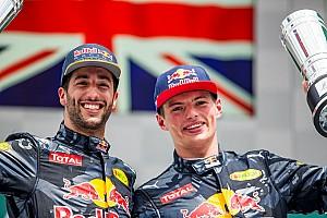 Formule 1 Actualités Red Bull s'attend à une rivalité Ricciardo-Verstappen à l'avenir