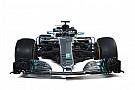 F1 Comparación Mercedes W08 vs. W09 F1