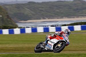 """MotoGP 速報ニュース 予選11位に沈んだドヴィツィオーゾ。苦戦の結果は""""FP4のクラッシュ"""""""