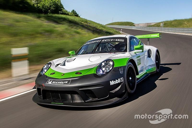 Weltpremiere am Nürburgring: Der neue Porsche 911 GT3 R