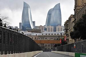 Formule 1 Diaporama Photos - Jeudi à Bakou