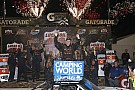 NASCAR Truck Sauter survives carnage and wins wild Truck race at Phoenix