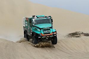Dakar Tappa Dakar, Camion, Tappa 7: doppietta Iveco con il successo di Van Genugten