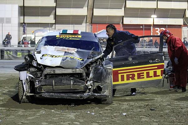 General Важливі новини Сольберг знову розбив машину на Болонському автосалоні