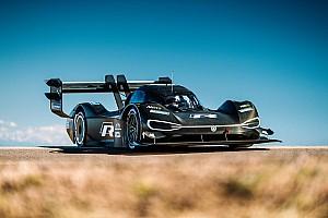 Hillclimb Breaking news Dumas: Electric VW the best car I've driven at Pikes Peak