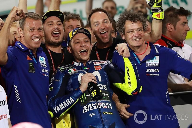 Valentino Rossi: Warum er für 2018 so optimistisch ist