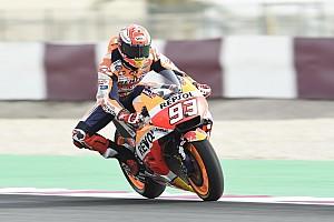 MotoGP Ultime notizie Losail, Warm-Up: Marquez davanti alle Ducati di Dovi e Petrucci