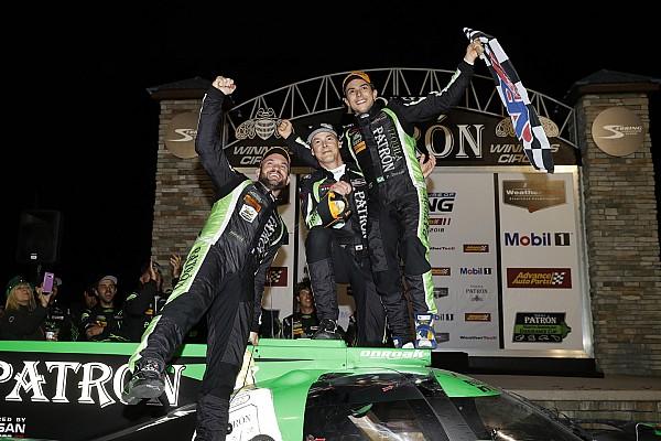 IMSA Gara Derani, van Overbeek e Lapierre conquistano la 12 Ore di Sebring