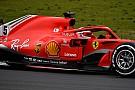 Слайдер: порівняння машин Ф1 Ferrari і Mercedes