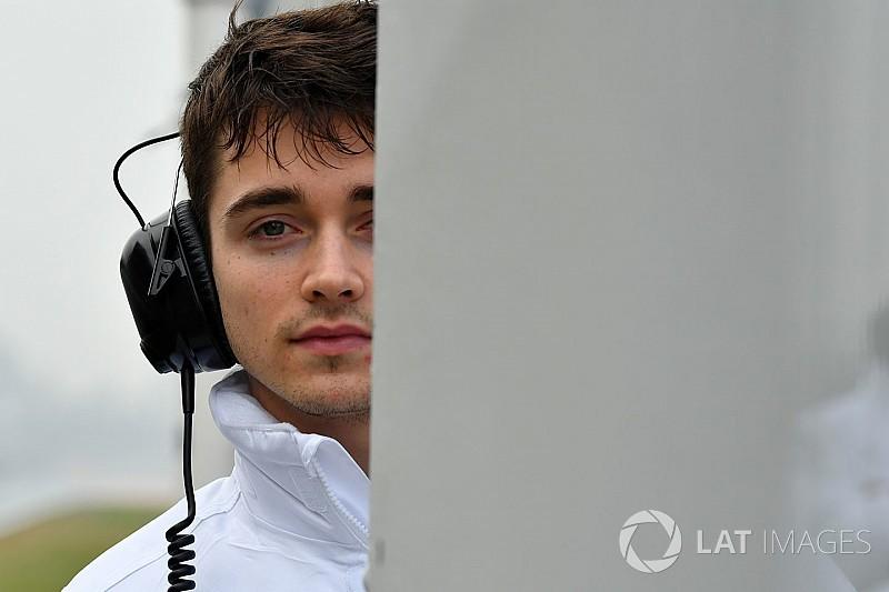 Sauber valorará la evolución de Leclerc en su primera temporada