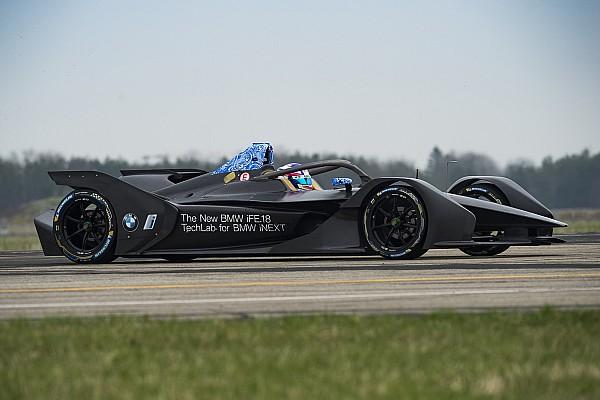 First BMW Formula E car completes maiden run
