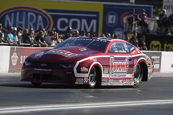 B. Force, Beckman, Anderson and Ellis current No. 1 qualifiers at season ending NHRA finals