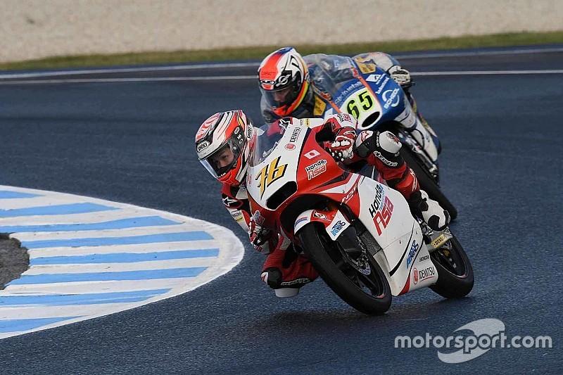 尾野弘樹「明日は後方から追い上げて、ポイント獲得を目指したい」:Moto3オーストラリア