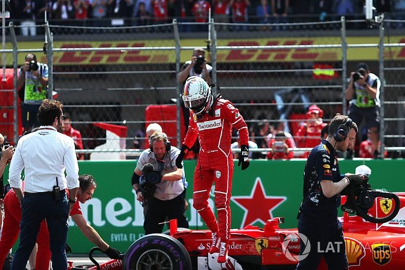 Vettel: Pole turumda neredeyse kontrolü kaybediyordum!