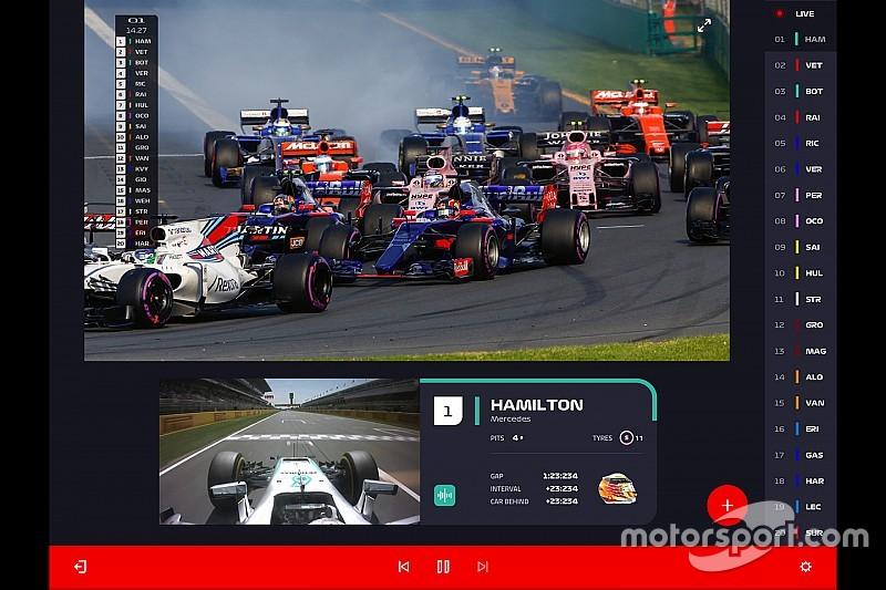 F1 anuncia serviços on demand para temporada 2018