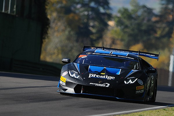 Lamborghini Super Trofeo Race report Lamborghini World Final: Agostini, Hindman win Pro/Pro-Am Race 1