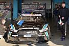 NASCAR Euro Daniil Kwjat testet NASCAR-Euro-Fahrzeug in Italien