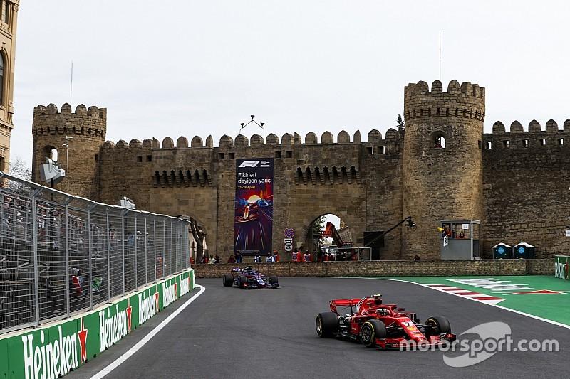 Azerbaijan GP extends F1 deal until 2023