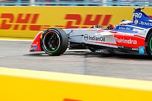 Formule E Réactions Sorti de piste, Rosenqvist ne regrette rien