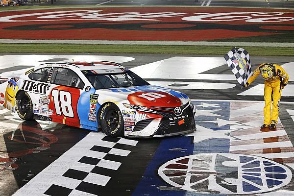NASCAR Sprint Cup Crónica de Carrera Kyle Busch gana por primera vez en Charlotte