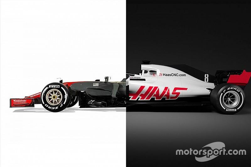 Vergleich: Haas VF-17 vs. Haas VF-18 für die Formel 1 2018