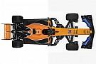Formula 1 Komparasi mobil F1: McLaren MCL32 vs McLaren MCL33