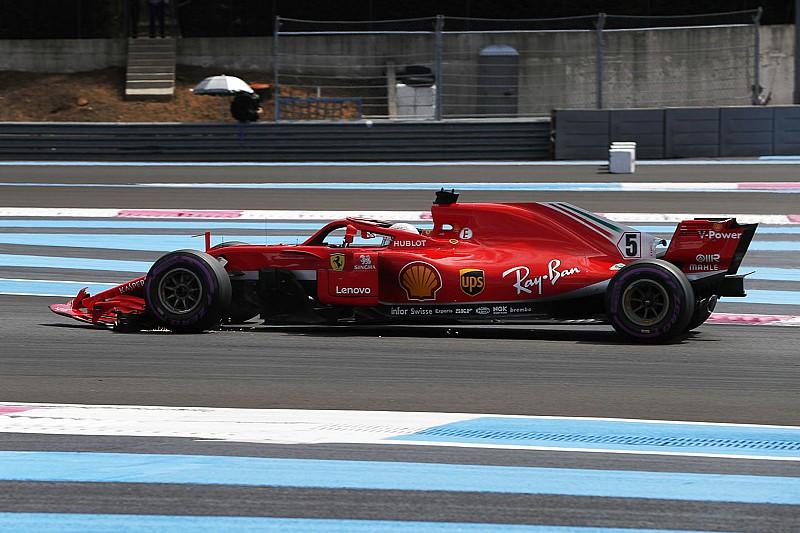 """Vettel neemt schuld op zich: """"Mijn start was te goed"""""""