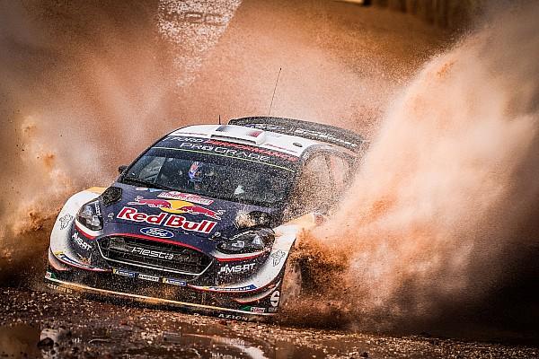 Italy WRC: Ogier leads Neuville, Mikkelsen out