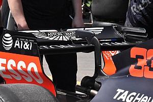 Formule 1 Contenu spécial Les dernières évolutions repérées sur les F1 à Bakou