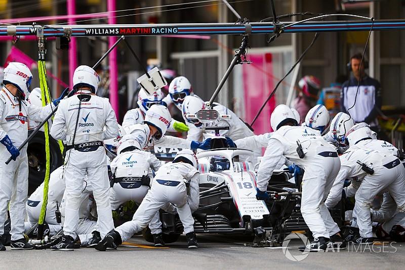 Azerbaycan GP'sinin en hızlı pit stopu Williamstan geldi