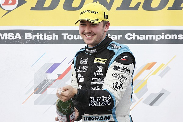 BTCC Silverstone BTCC: Ingram wins red-flagged opening race