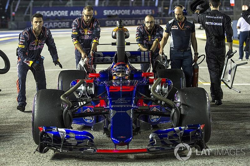 A Toro Rosso öröme Szingapúrból: mintha nyertek volna